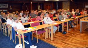 Deltagare på KUB-projektets första lärseminarium i Tällberg, september 2012.